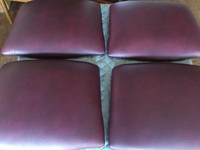 椅子 座面張替え後