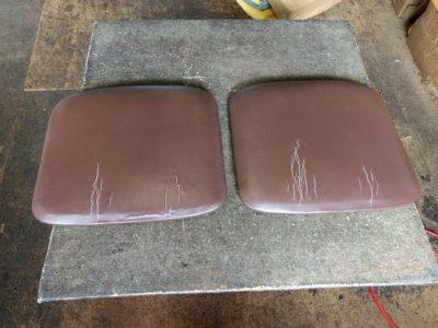 椅子座面の張替え前