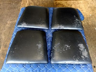 椅子座面張り替え 前