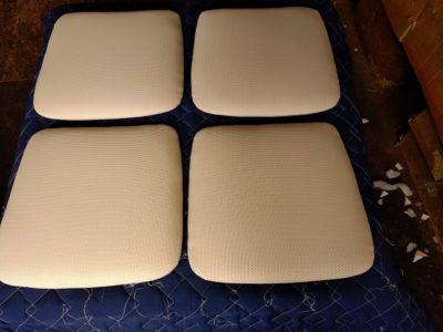 椅子座面張り替え 後